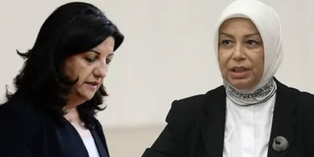 AK Parti'li Öznur Çalık, HDP'li Pervin Buldan ile arasında geçen konuşmayı anlattı