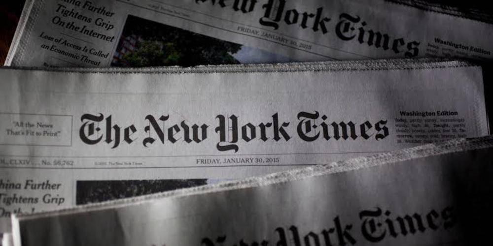 New York Times: Türkiye yerlerinden edilmiş milyonlarca sivili koruyan sahadaki tek uluslararası güç