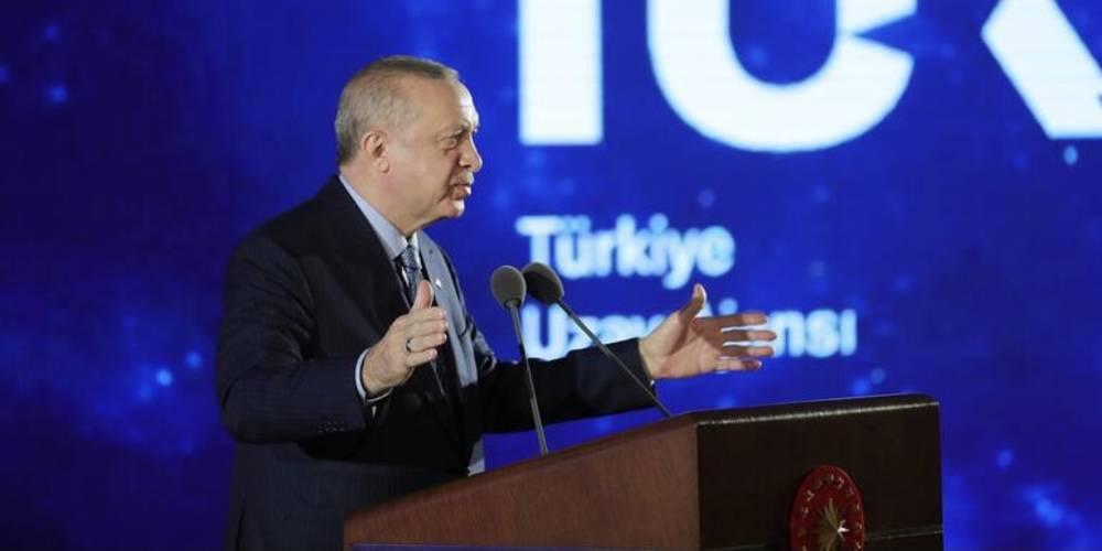 Cumhurbaşkanı Erdoğan, Milli Uzay Programını açıkladı