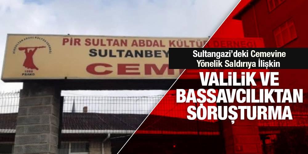 Sultangazi'deki Cemevine Yönelik Saldırıya İlişkin Valilik ve Başsavcılıktan Soruşturma