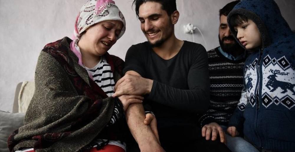 Suriyeli gençle enkazdan çıkardığı Elazığlı çift buluştu: O bizimi Hızır'ımız