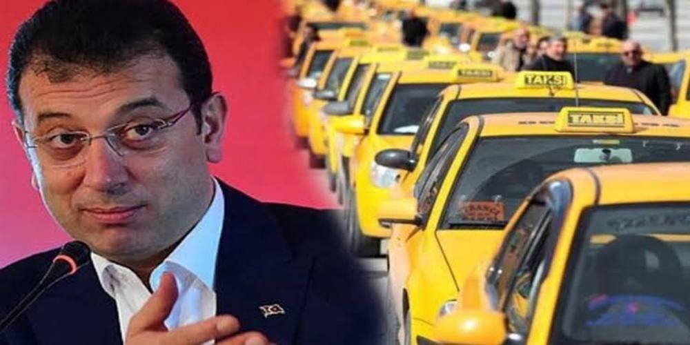 CHP'li Ekrem İmamoğlu'ndan taksimetre cihazlarını güncellemek isteyen esnafa eziyet:  'Ekrem Bey'in hatası şu herkesi aynı yere toplamayacaktı'