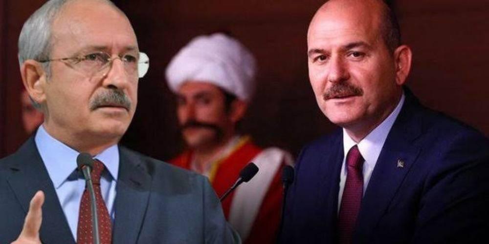"""İçişleri Bakanı Süleyman Soylu'dan valilere 'militan' diyen Kemal Kılıçdaroğlu'na sert tepki: """"Sayın Kılıçdaroğlu'nun dostlarına tavsiyem; tedaviye ikna edilmesidir"""""""