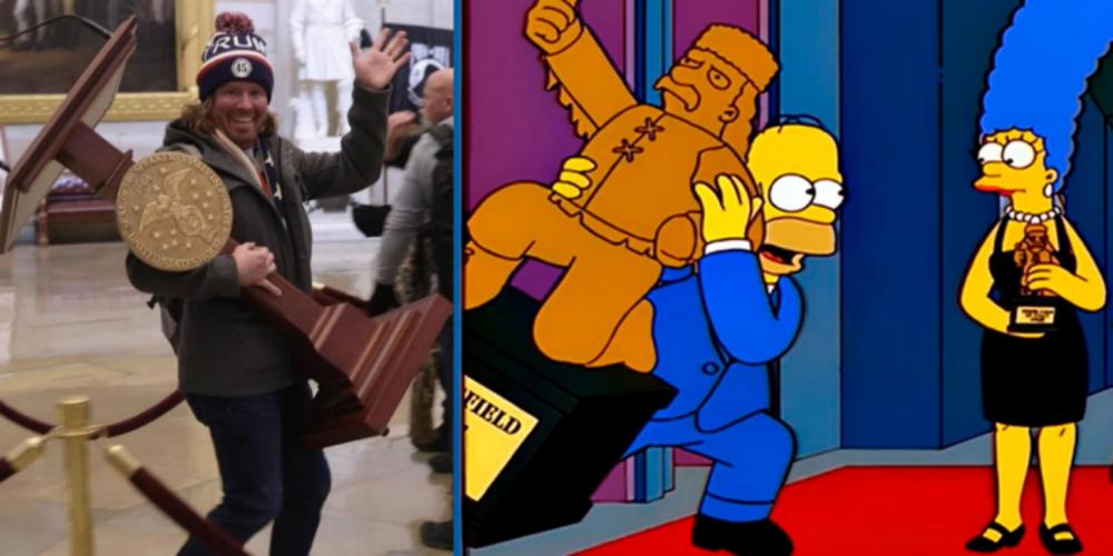 Simpsonlar ABD'deki darbe girişimini de bildi!