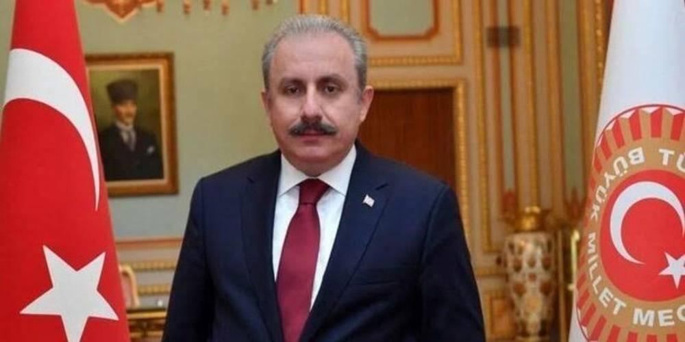 TBMM Başkanı Prof. Dr. Mustafa Şentop'tan Kemal Kılıçdaroğlu'na 'sözde cumhurbaşkanı' tepkisi