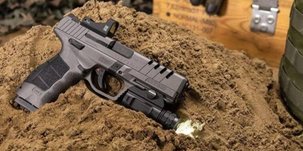 Yerli tabanca SAR 9X, ABD'de 2020 yılının en iyi tabancası seçildi