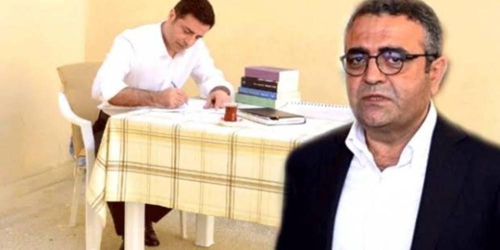 CHP'li Tanrıkulu, 'sevgili dostu' Demirtaş'ı cezaevinde ziyaret etti