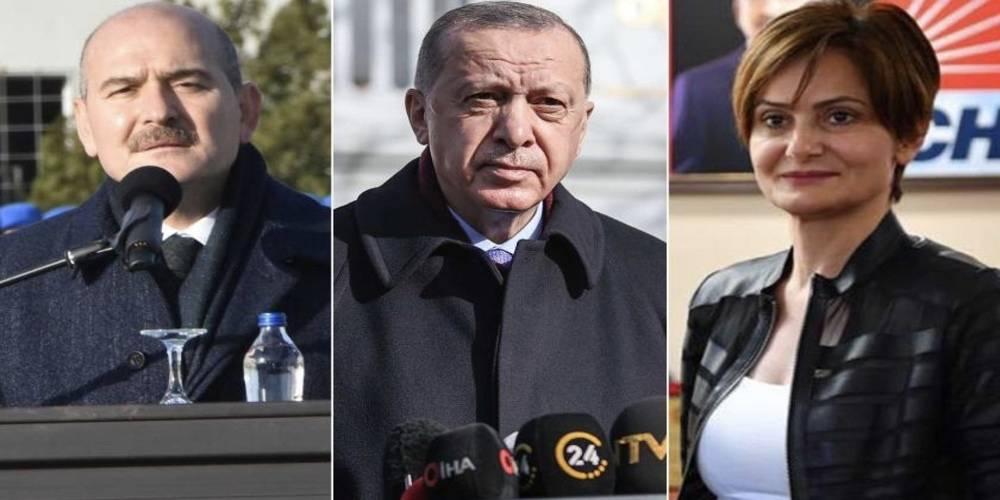 Süleyman Soylu: Canan Kaftancıoğlu, terör örgütlerinin soytarısıdır.