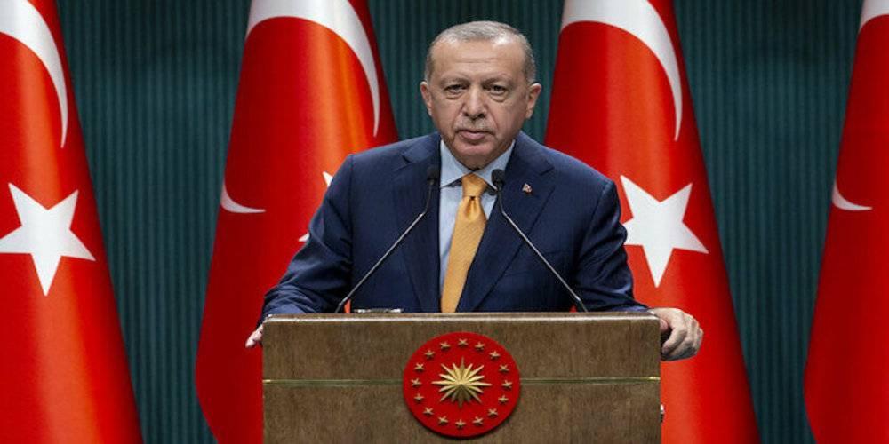 """Cumhurbaşkanı Erdoğan: """"Teröriste terörist demekten aciz bu genel başkanı öncelikle CHP seçmenine havale ediyoruz"""""""