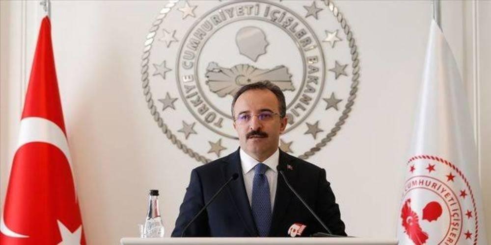"""İçişleri Bakan Yardımcısı Çataklı: """"Yunan Göç ve İltica Bakanı Notis Mitarachi, öncelikle bu insanlık dışı uygulamalara son verdiklerini tüm dünyaya duyurmalıdır"""""""