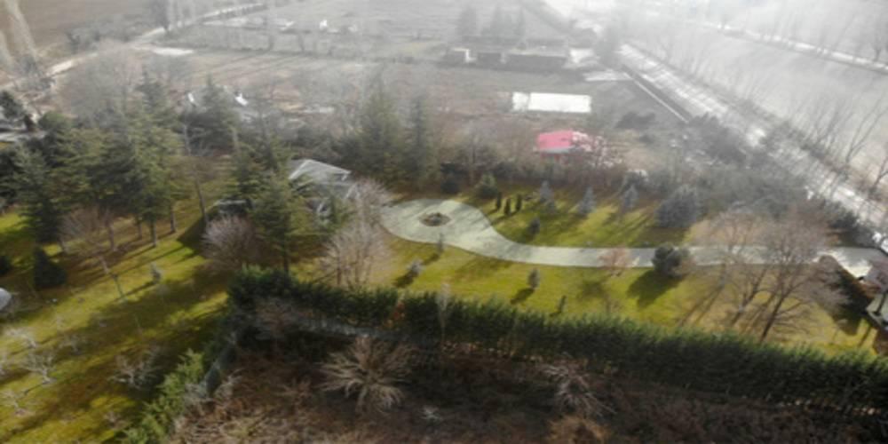 CHP'li Yılmaz Büyükerşen'in eşinin kaçak yapıldığı iddia edilen evi görüntülendi