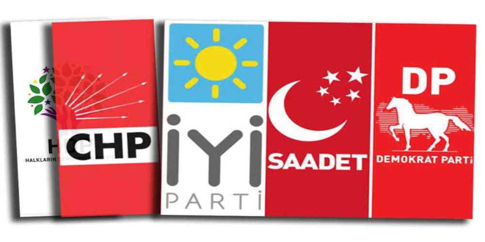 Millet ittifakı'nda ilk çatlak: Demokrat Parti: HDP varsa biz yokuz
