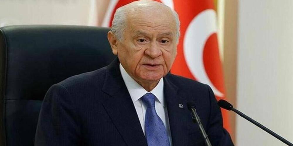 """Devlet Bahçeli: """"Serok Ahmet ümidini dış güçlere bağlamasın, Kobani'ye selam gönderdiği yıllar geride kalmıştır"""""""