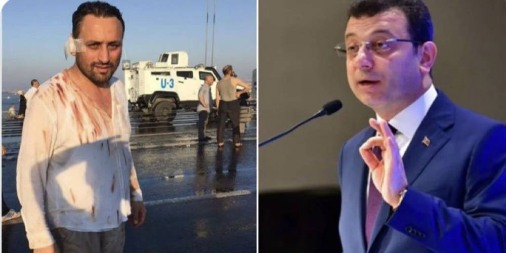 CHP'li İBB Başkanı Ekrem İmamoğlu, 15 Temmuz Gazisi Mustafa Kürşat'a mobing uygulatıp işinden etti