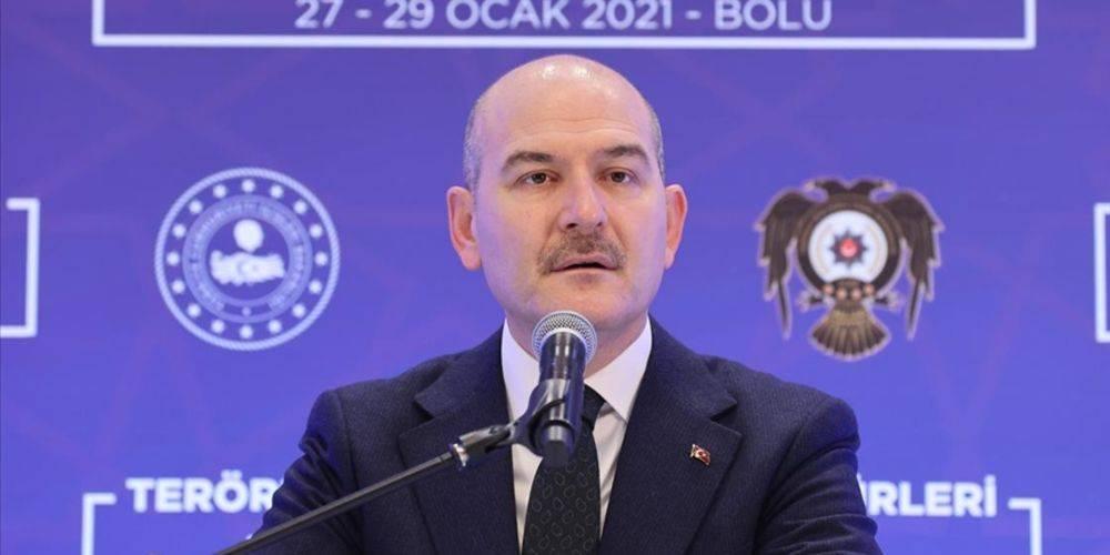 """İçişleri Bakanı Süleyman Soylu: """"Esenyurt HDP binasına gidip geçmiş olsun desinler"""