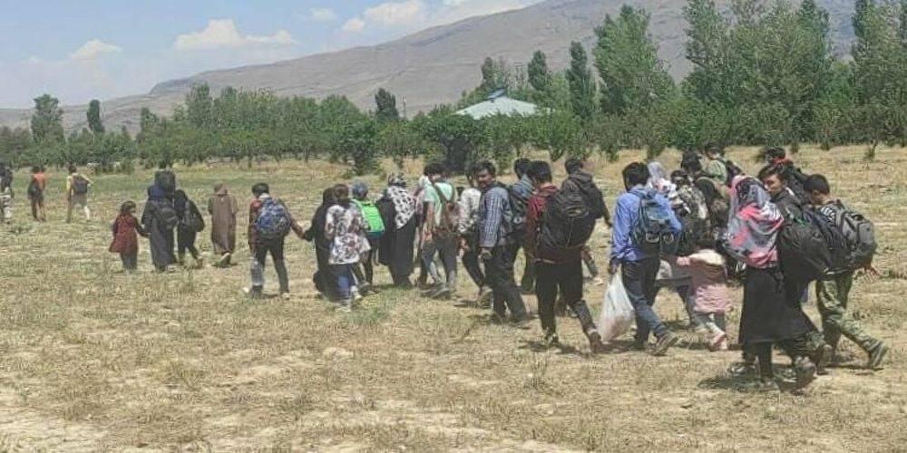Van sınırından Türkiye'ye giren 80 Afgan yakalandı