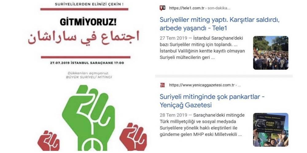 İYİ Parti kaynaklı mülteci provokasyonu tutmadı
