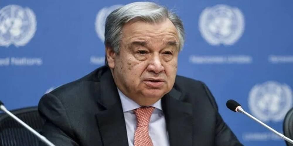 BM Genel Sekreteri Guterres, Irak'taki terör saldırısını kınadı