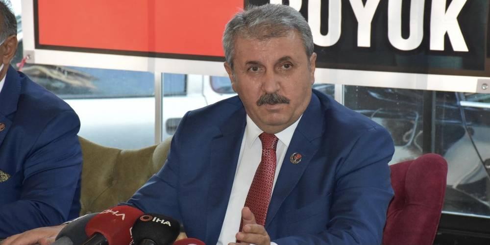 BBP Genel Başkanı Destici: OHAL'in uzatılmasının, Türkiye açısından gerekli olduğunu düşünüyoruz
