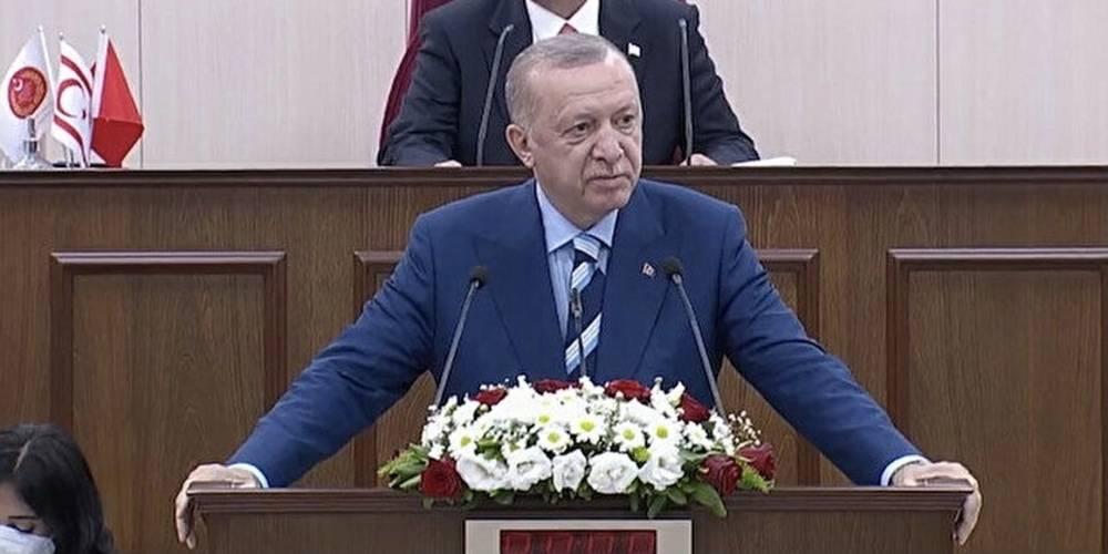 """Cumhurbaşkanı Erdoğan: """"Her ne kadar bizlerin burada sergilediği birlik, beraberlik, kardeşlik iklimi Amerika'da birilerini rahatsız etmiş olsa da, biz bu yolda kararlılıkla yürüyeceğiz."""""""