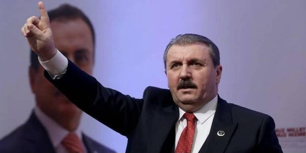 BBP Genel Başkanı Destici'den Bakan Soylu açıklaması: Biz bakanımıza güveniyoruz…