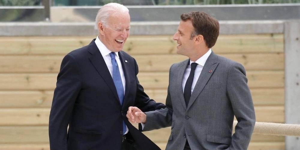 Emmanuel Macron: Biden, müttefikleri ABD'nin geri döndüğüne ikna etti