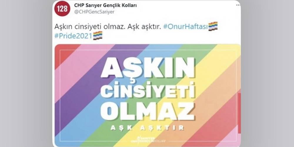 CHP'den LGBT'lilere bir destek