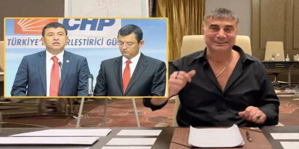 CHP'li Özgür Özel ve Veli Ağababa organize suç örgütlü elebaşı Sedat Peker ile görüştü