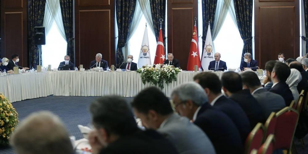 Erdoğan'dan milletvekillerine: Vatandaşla daha sık buluşun
