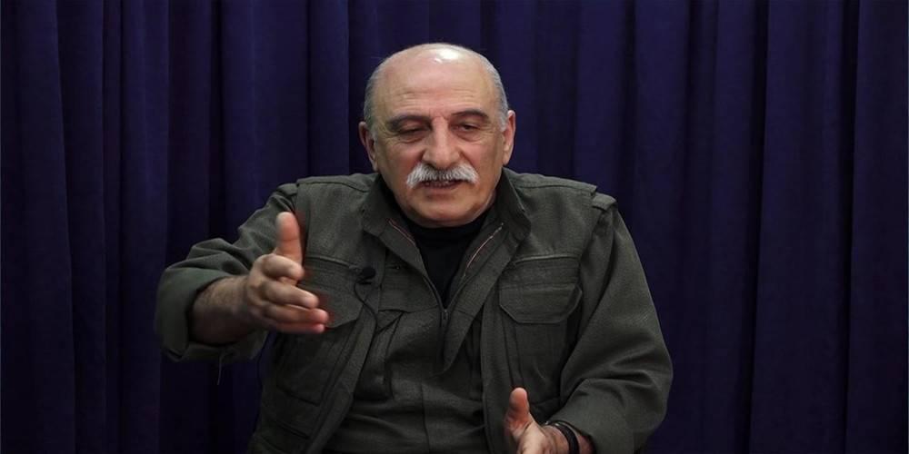 """Terör örgütü PKK'nın elebaşlarından Duran Kalkan: """"Bütün yönetim HDP'ye devredilmelidir.  Biz PKK olarak destek veririz"""""""