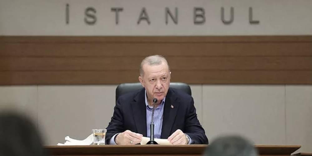 """Cumhurbaşkanı Erdoğan: """"Bizim bütün derdimiz, beklentimiz NATO'nun birlik ve beraberliğine, dayanışmasına güç katacak amasız fakatsız bir yaklaşımı Amerika'dan görmektir."""""""