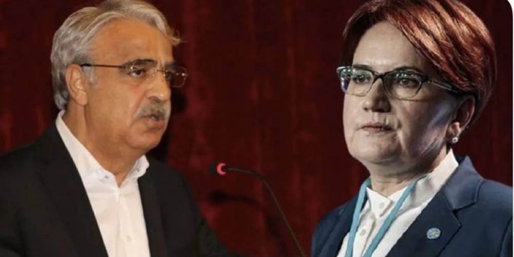 HDP İYİ Parti'ye aba altından sopa gösterdi