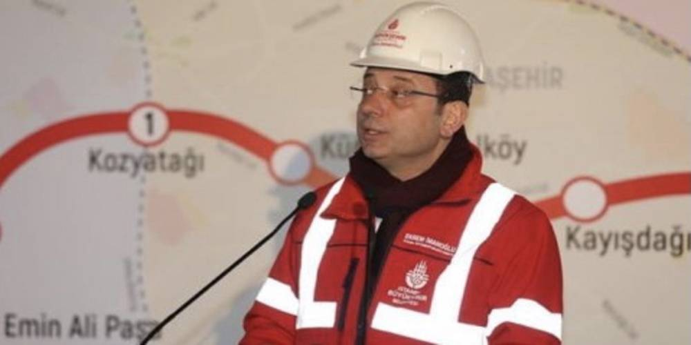 Ekrem İmamoğlu'nun metro planı tutmadı: 2023'de açacağım dediği metro hattını 2029'a erteledi