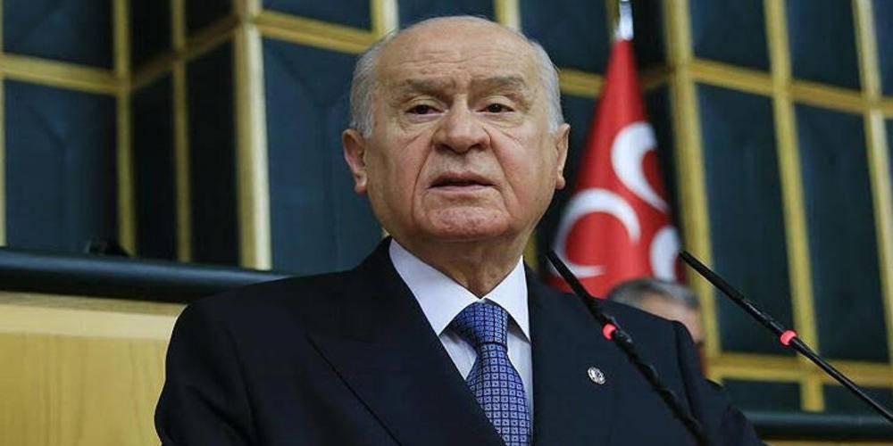 MHP Genel Başkanı Bahçeli: CHP kendine baksın, biz mafyayı tanımayız