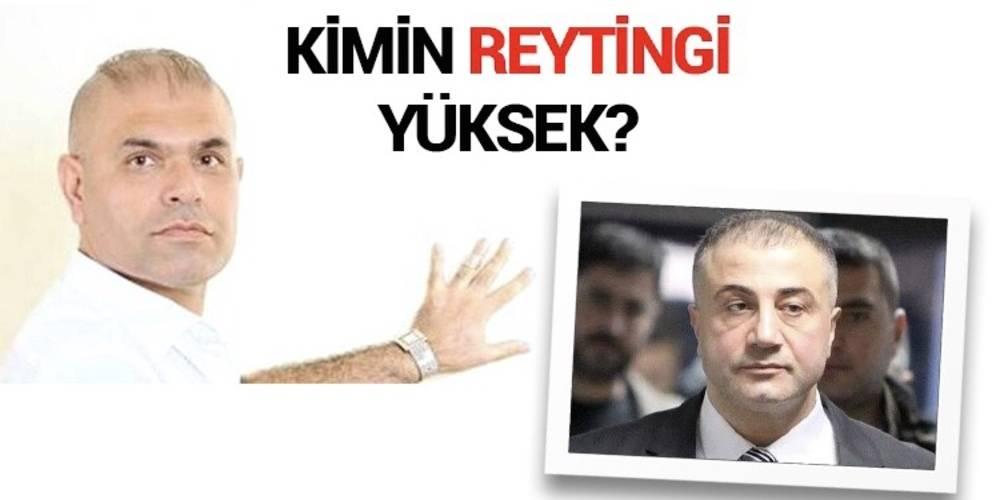 Kimin reytingi yüksek? Ajdar'ın mı Sedat Peker'in mi?
