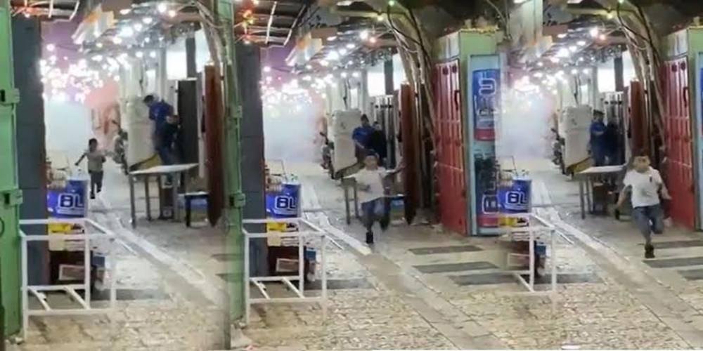 Doğu Kudüs'te bomba ve mermilerin önünde koşan çocuk simge oldu