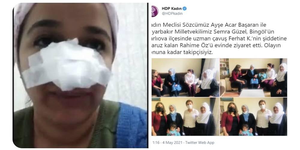 Bingöl Karlıova'da uzman çavuşa iftira atan Rahime Öz'nün yalanı deşifre oldu…