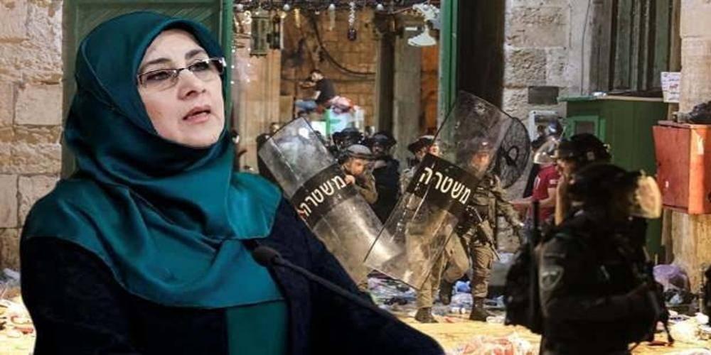 HDP'li Hüda Kaya İsrail saldırısı üzerinden Türkiye'yi hedef aldı