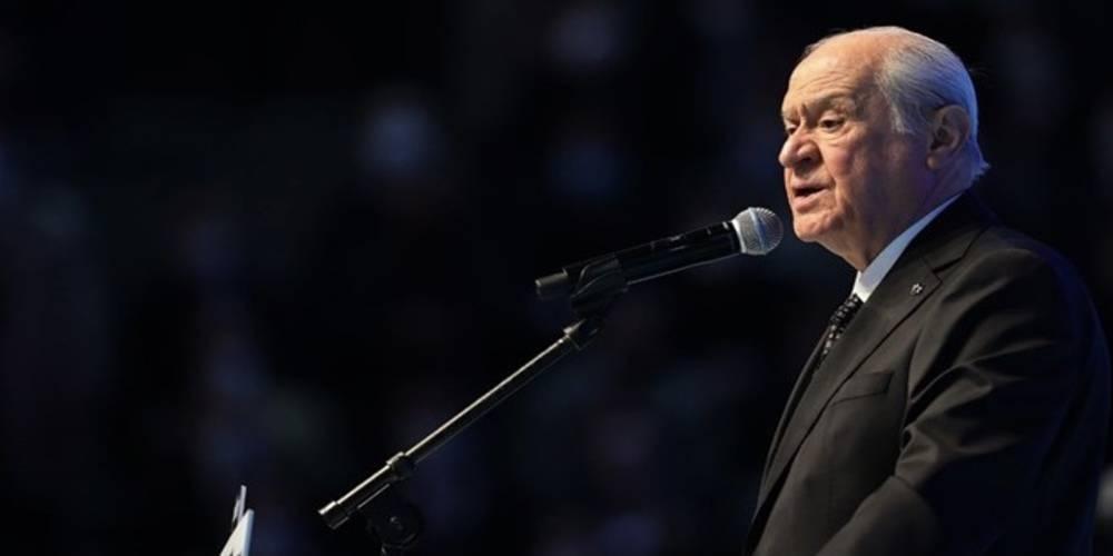 MHP Genel Başkanı Bahçeli'den yeni anayasa açıklaması: Değiştirilemez maddeler aynen korunmuştur