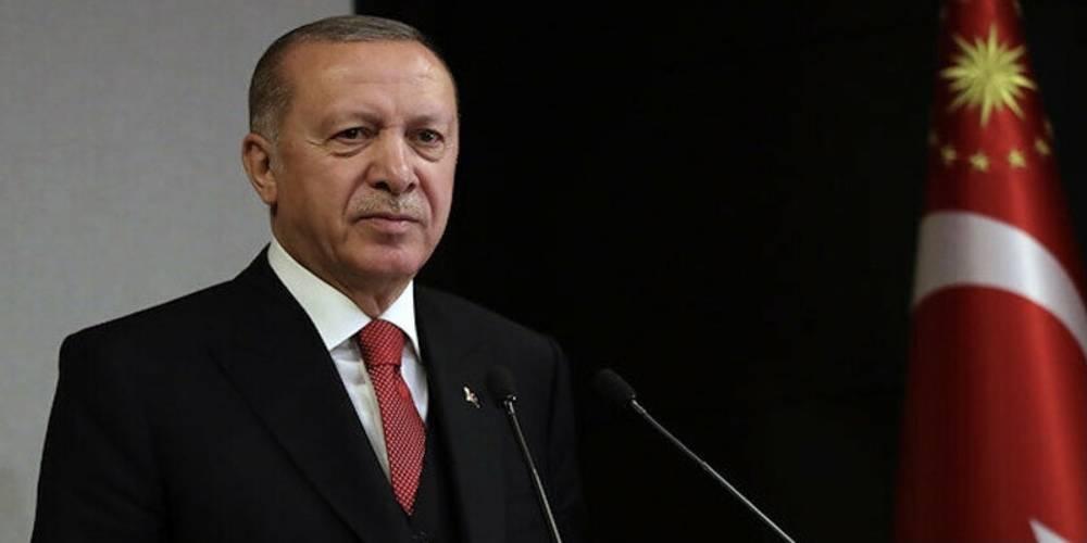Cumhurbaşkanı Erdoğan Filistin Devlet Başkanı'yla görüştü
