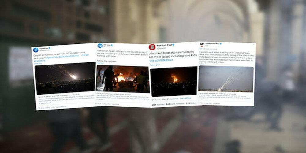 Uluslararası medyadan İsrail zulmüne aklama