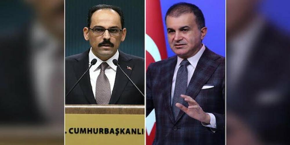 AK Parti Sözcüsü Çelik ve Cumhurbaşkanlığı Sözcüsü Kalın'dan muhalefete Sedat Peker tepkisi