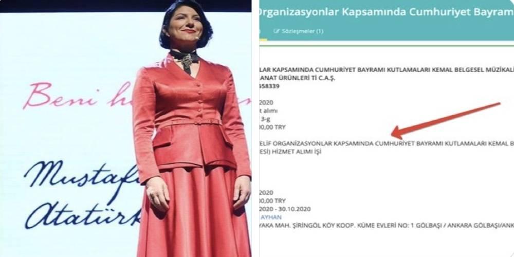 Kentin deprem bütçesini yüzde 65 düşüren İstanbul Büyükşehir Belediyesi, birkaç saat için sanatçı Pınar Ayhan'a 320 bin lira ödedi