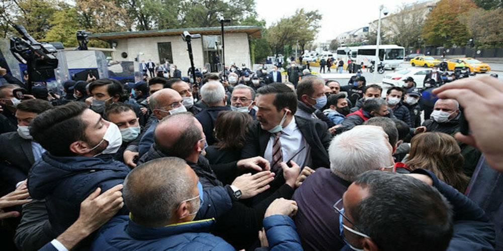 CHP'liler ve HDP'liler koronayı TBMM'ye sokmak istedi