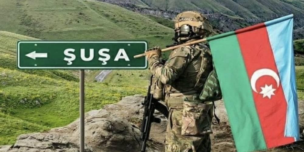 Azerbaycan ordusu Şuşa kentini işgalden kurtardı