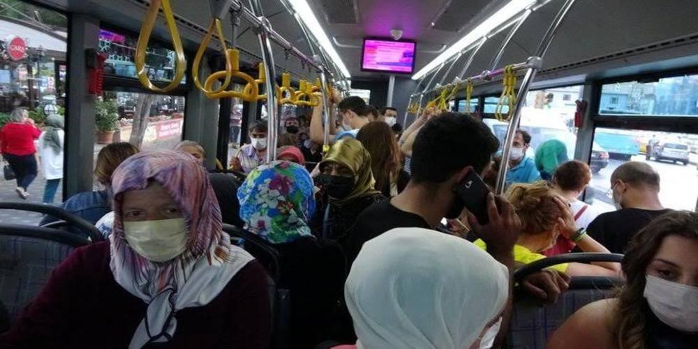 İBB toplu taşımayı unuttu! Toplu taşımada her gün aynı manzara: Hava soğuk, seferler yetersiz, vatandaş mecburen biniyor