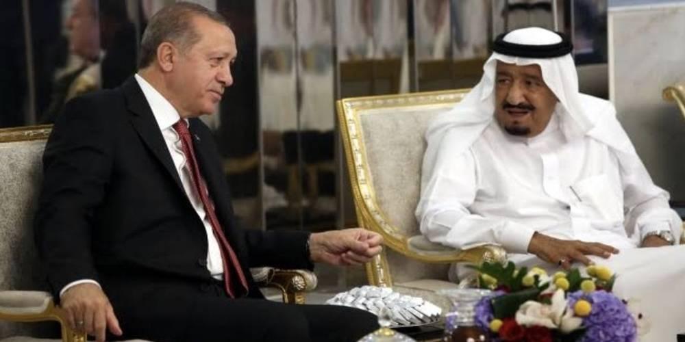 Cumhurbaşkanı Erdoğan Kral Selman ile görüştü! İkili ilişkiler ele alındı...