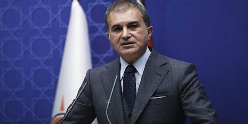 Türk gemisine hukuk dışı arama ile ilgili açıklama yapan AK Parti Sözcüsü Çelik: Bu korsan aramadır