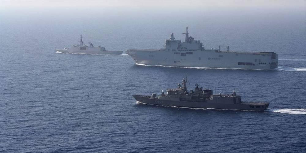5'i Türkiye'ye karşı birleşti! Doğu Akdeniz'de yeni provokasyon...