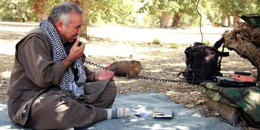 Teröristbaşı Murat Karayılan'a kazan kaldırıldı: Ölüm korkusu yaşamaya başladın alçak adam